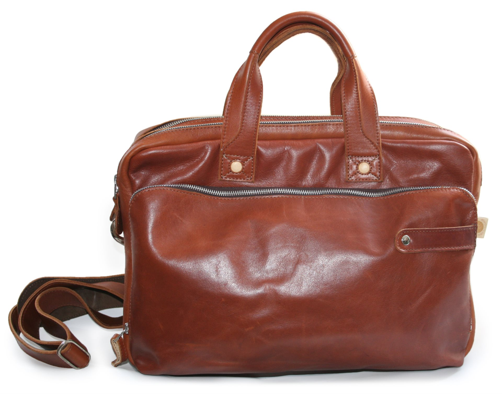 Multi Zip Briefcase