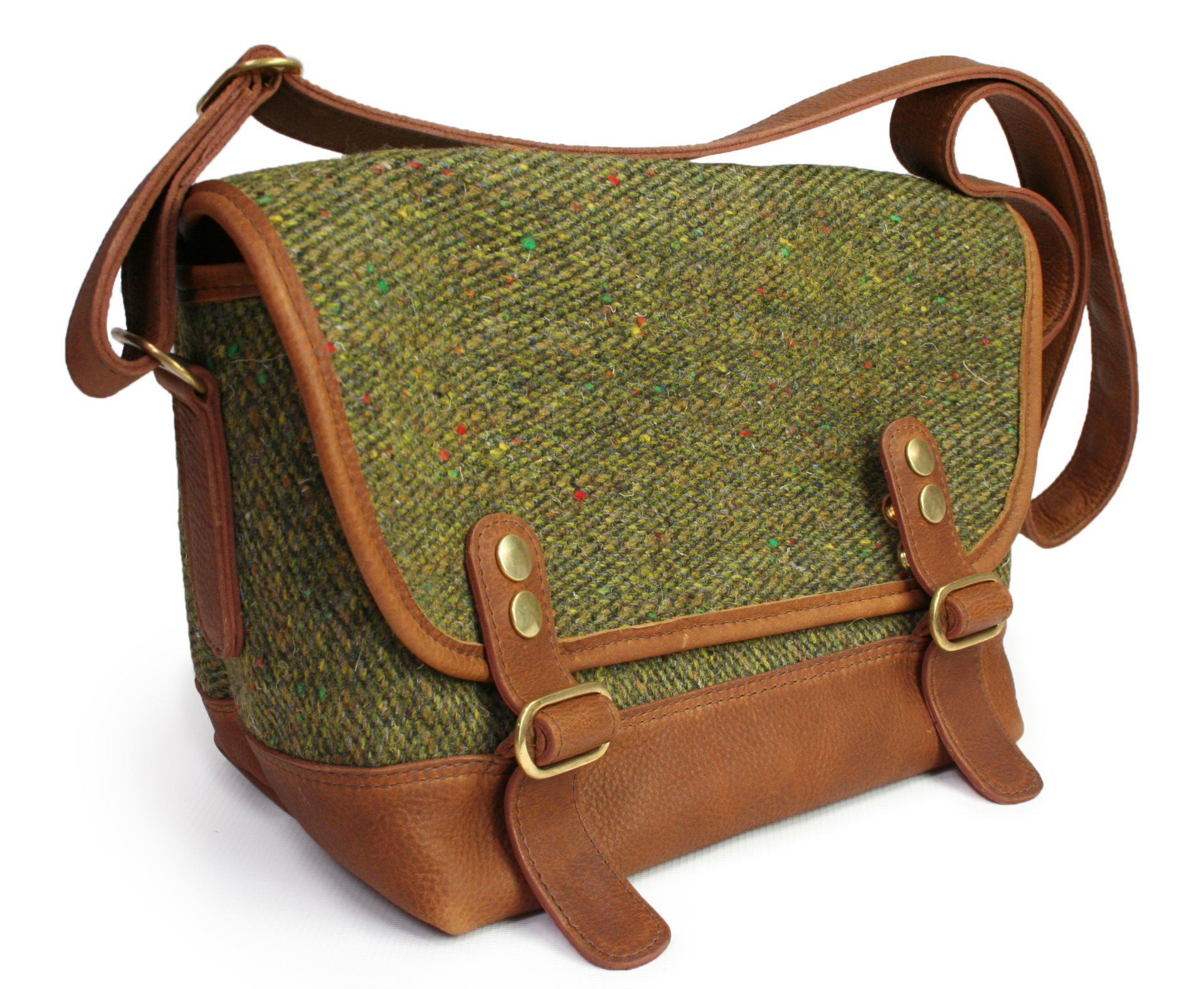 Tweed Goggin Satchel