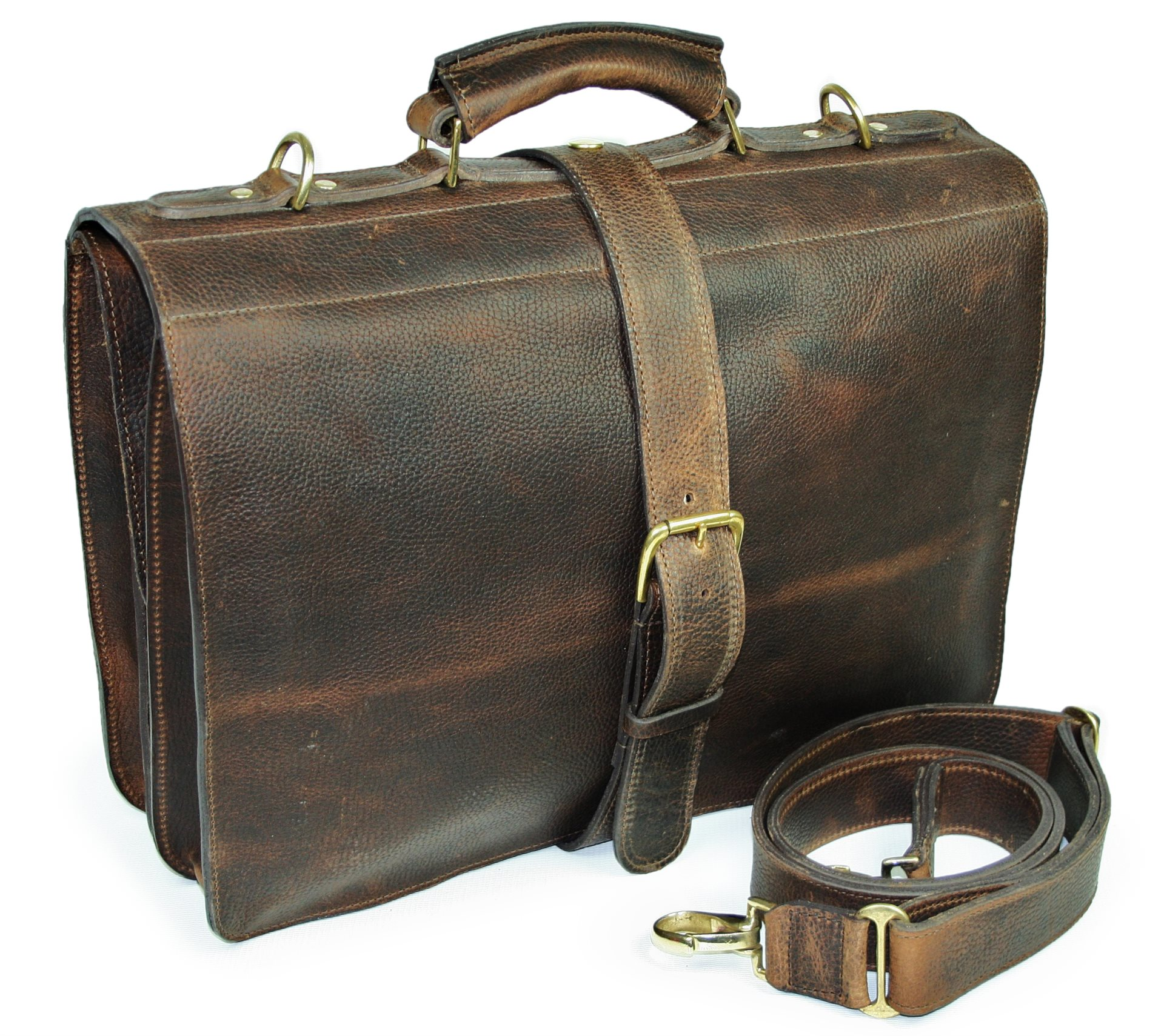 Kempton Saddlebag Briefcase