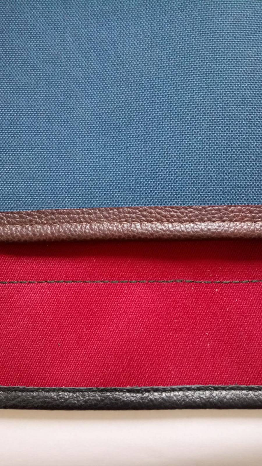 Add Leather Binding to Mohair Half-Tonneau Cover