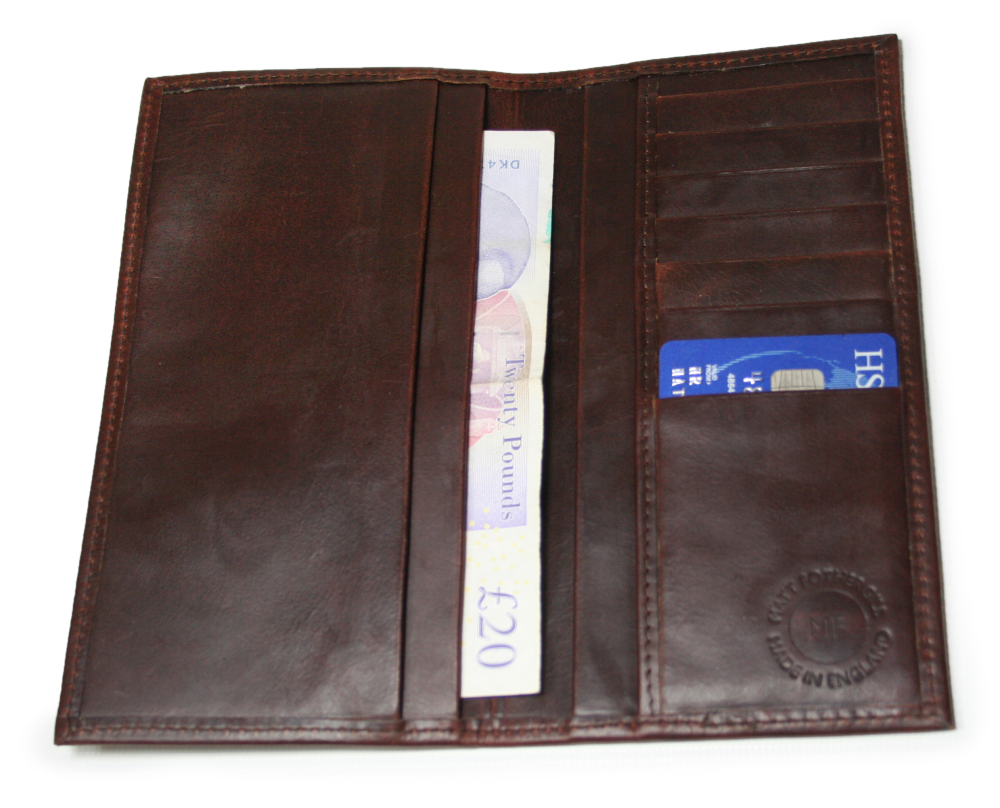 Tall Horween Mens Wallet