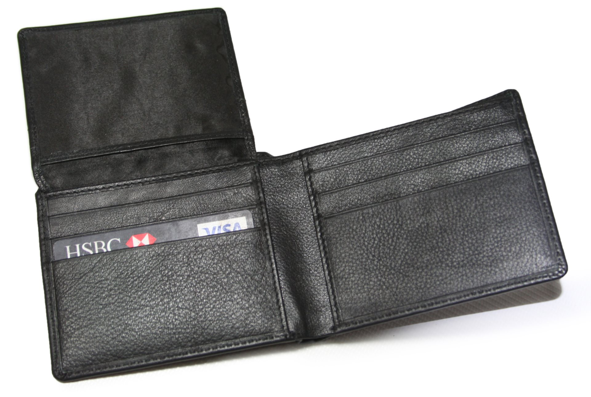 Mens Wallet with ID Section