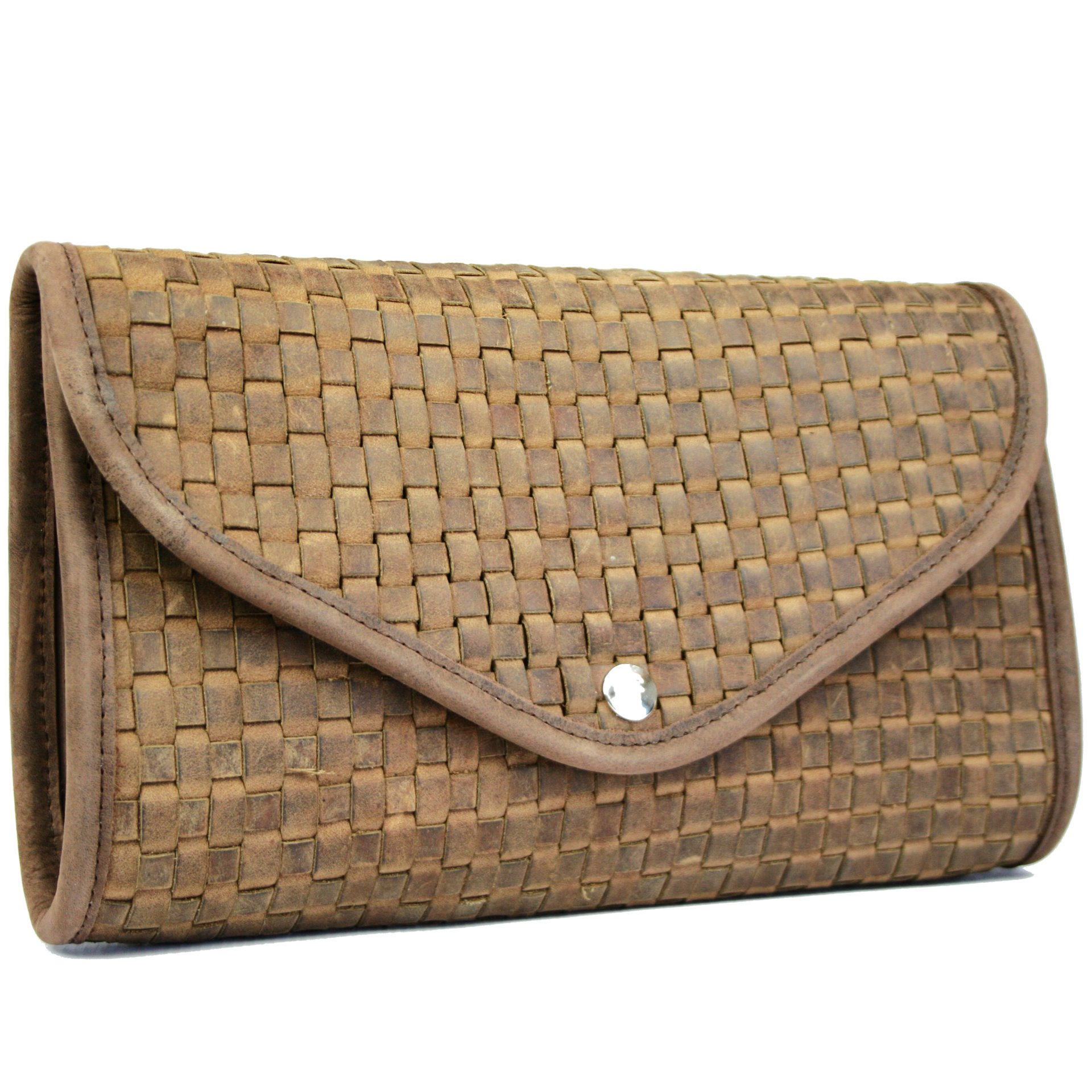 Large Woven Clutch