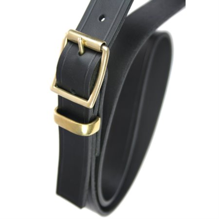 "Double Roller Buckle With Brass loop 1"" Belt"