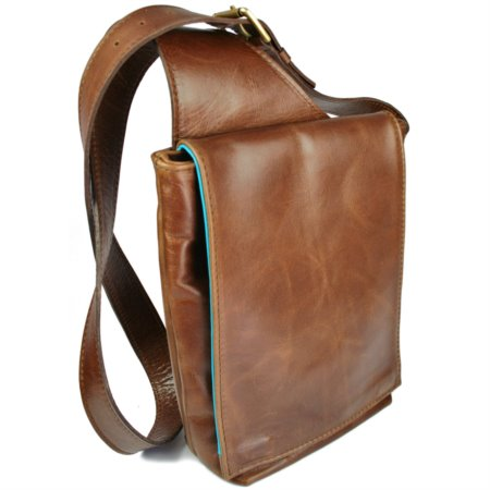 A5 Portrait Wilde Bag With Tapered Strap And Magnetic Closure