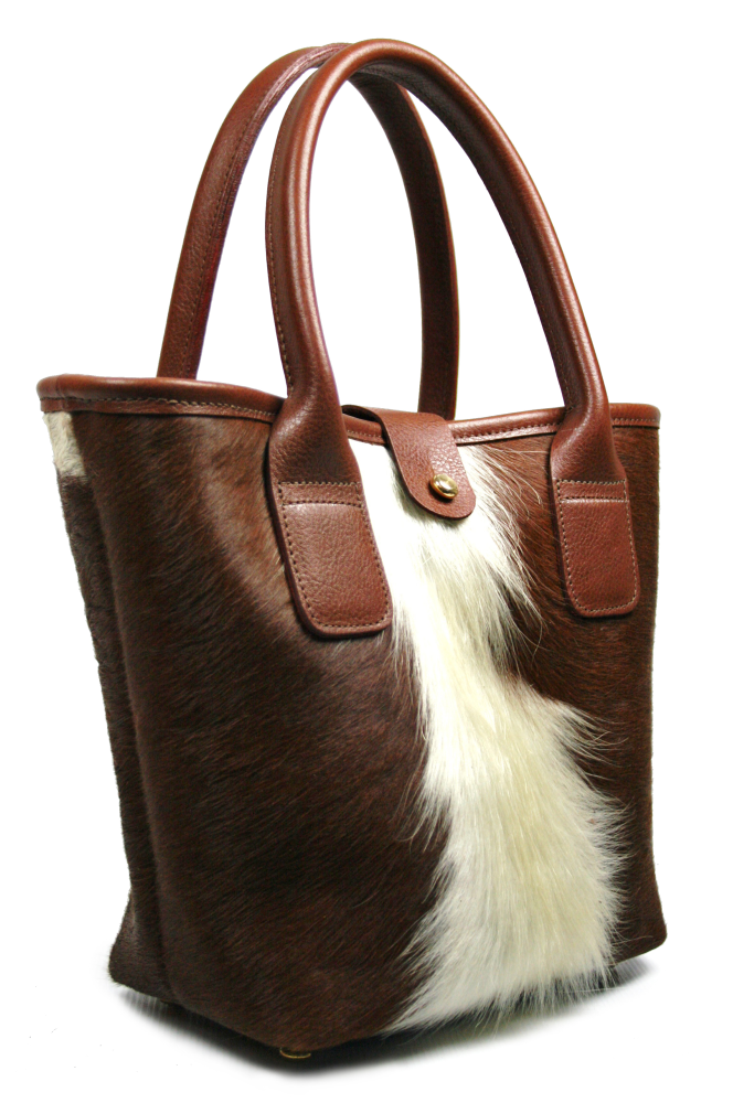 Cow Hair Sheet Tote